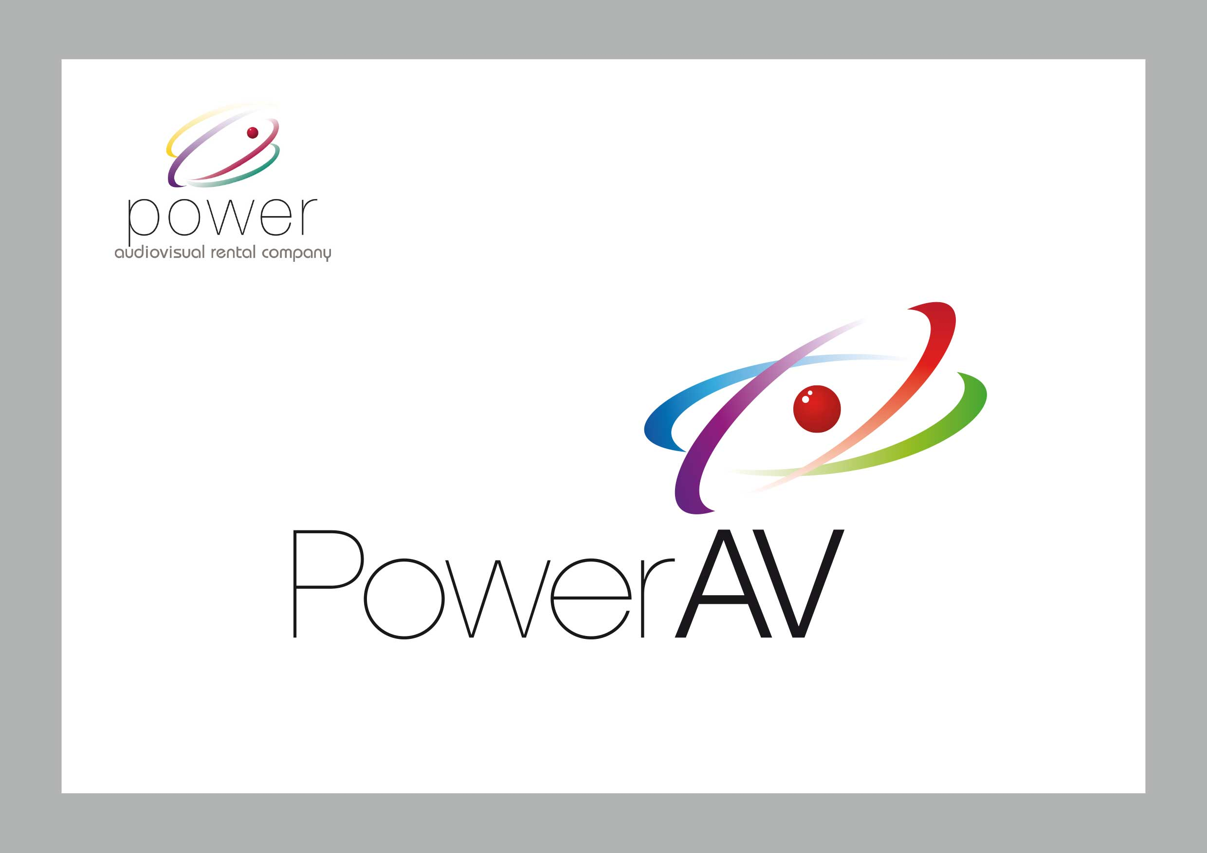Logotipo de Power AV