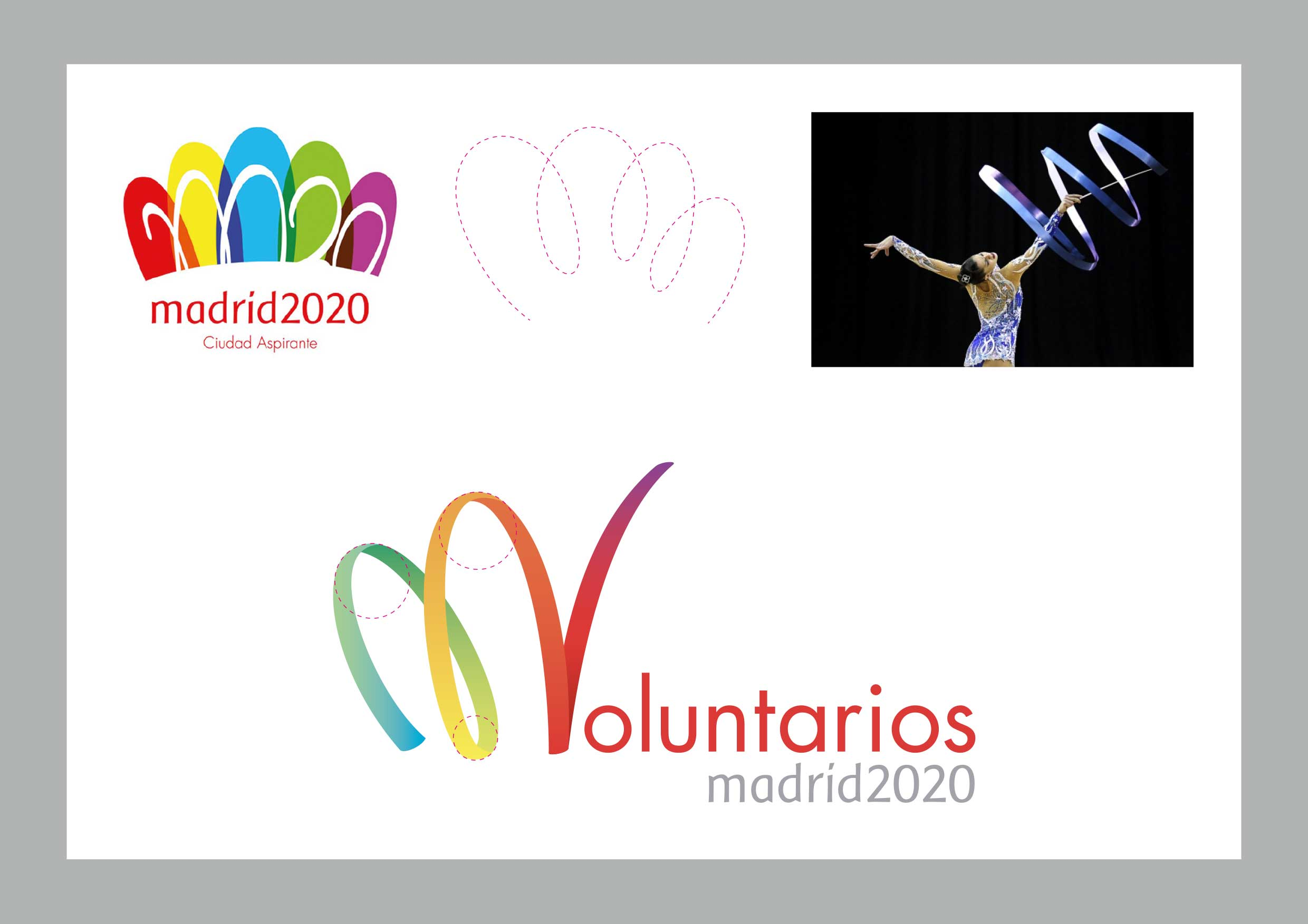 logotipo Voluntarios Madrid 2020