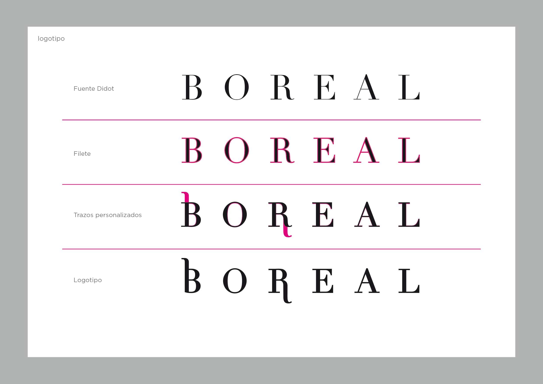 Logotipo de Boreal